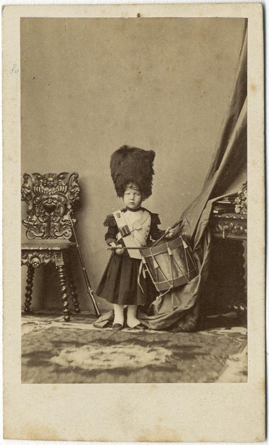Photo Disdri Carte De Visite Cdv Prince Imprial Vers 1860